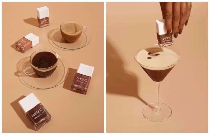Чёрный, без сахара: первая коллекция -кофейных- лаков для маникюра, которые ещё и рост ногтей ускоряют