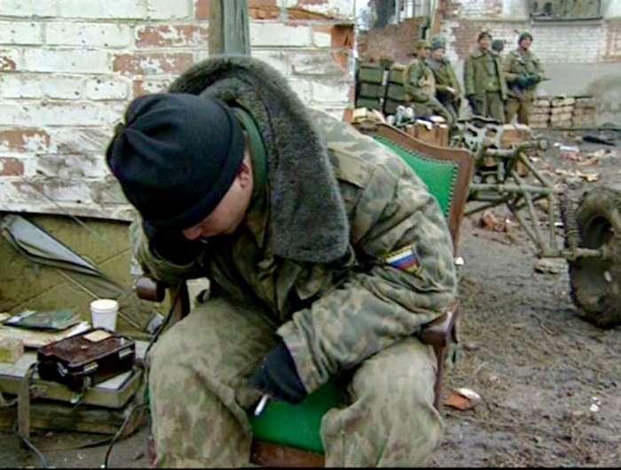 Жуткие кадры первой чеченской от съемочной группы Александра Сладкова 16+ (54 фото)