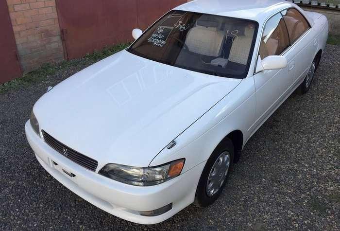 Нараспил: Toyota Mark II 1994 года с пробегом 5764 км (20 фото)