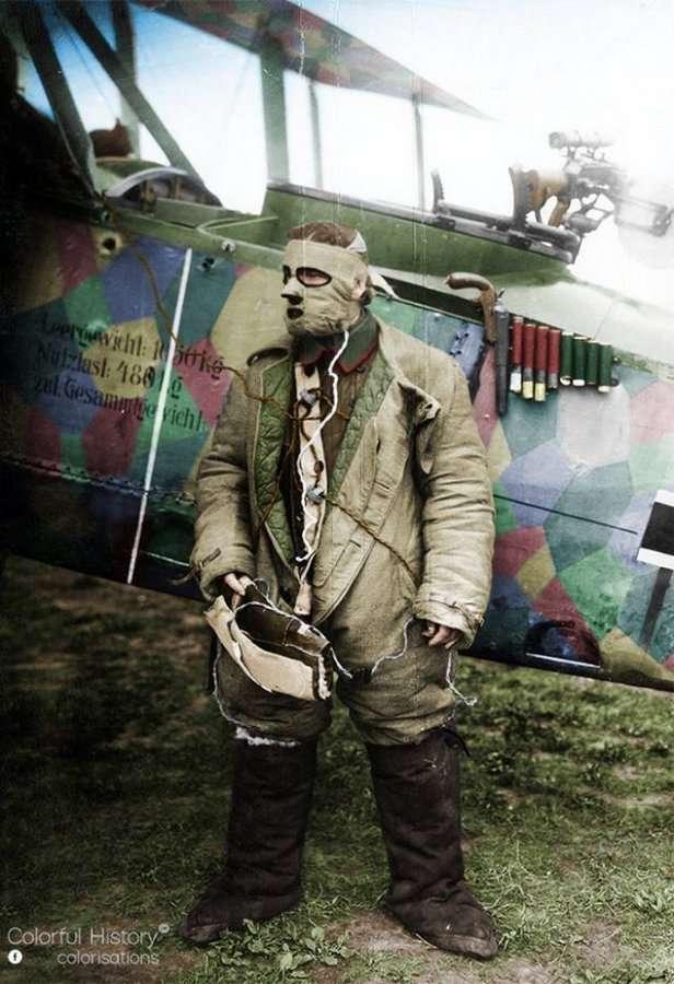 Авиация и авиаторы Первой мировой войны (80 фото)