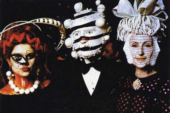 Полный сюр тайной масонской вечеринки 1972 года (21 фото)