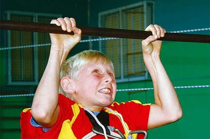 Интересная история: Про подтягивание и &171;учителей&187; физкультуры