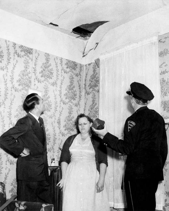 Энн Элизабет Ходжес единственный человек на Земле, в кого попал метеорит