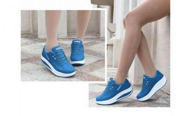 Знакомая заказала кроссовки из Китая