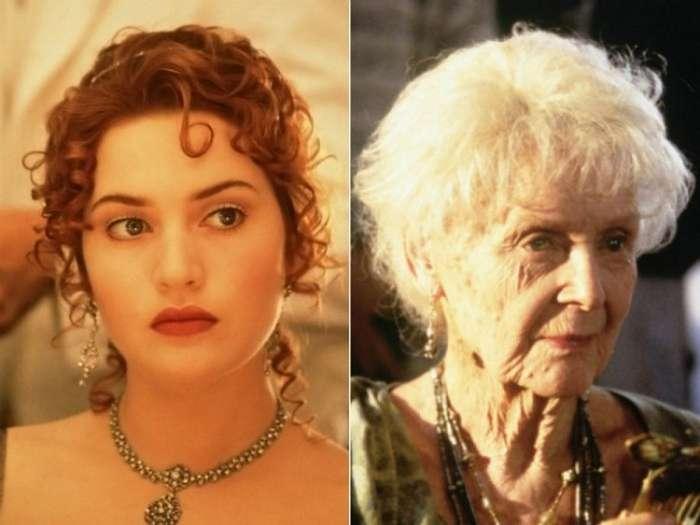 Глория Cтюарт &8212; актриса, сыгравшая пожилую Розу из -Титаника-, в молодости… (5 фото)