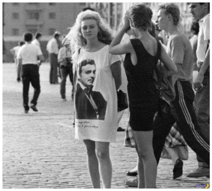 Мода позднего СССР