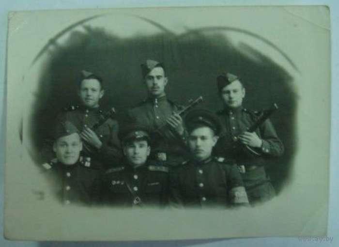 Про бандитов в БССР после освобождения в 1944 году