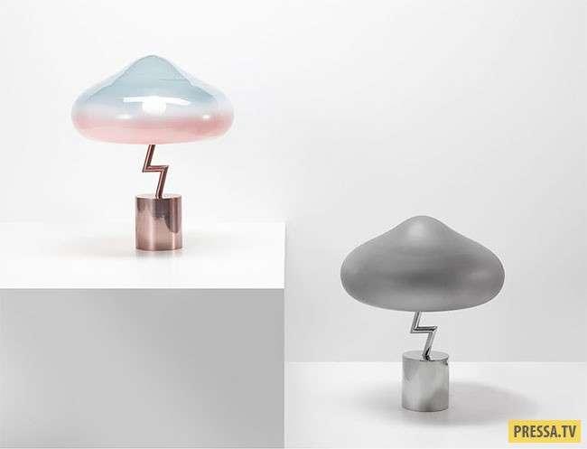 Корейский дизайнер изобрел грозовую лампу для комнаты (9 фото)
