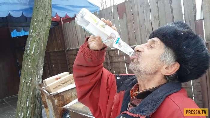 После этого Михалыч бросил пить...