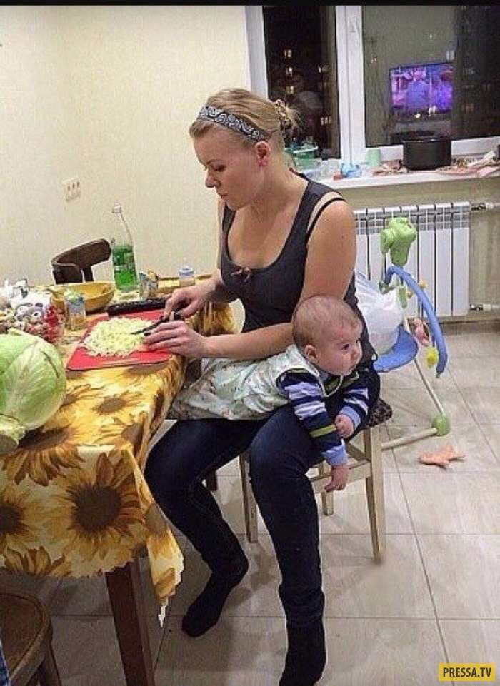 Ох уж эта радость материнства – мамские приколы из сети! (15 фото)