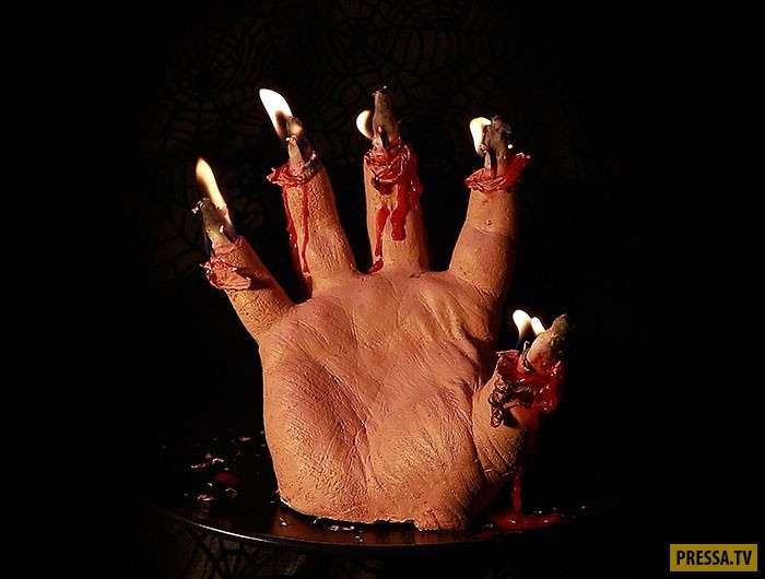 Необычная свечка, которую каждый хотел бы на Хеллоуин (5 фото)