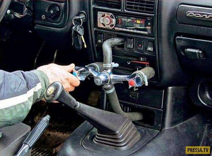 Когда нет денег на ремонт машины – самые креативные починки автолюбителей (15 фото)
