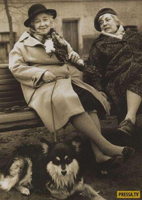 Уникальные фотографии известных людей 20 века (27 фото)