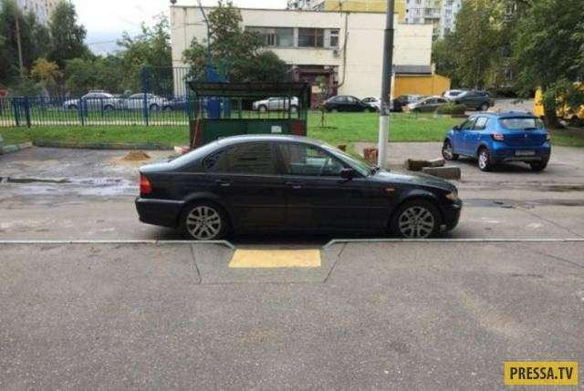 Прикольные фотографии про парковку (30 фото)