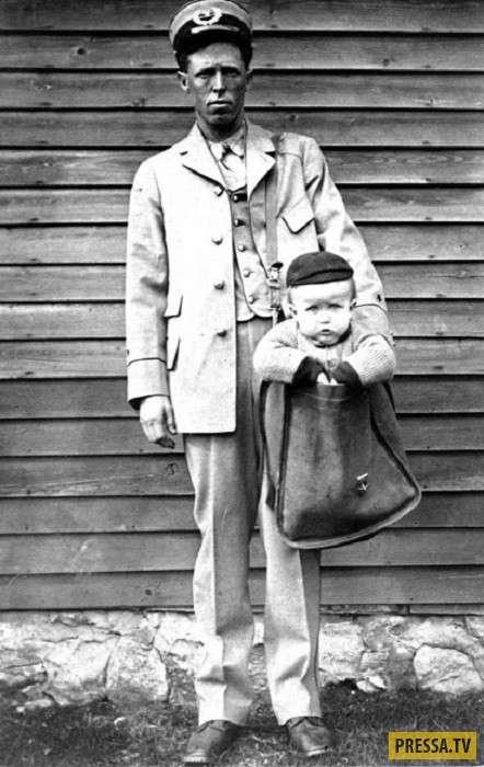 Странный американский сервис: дети почтой (6 фото)