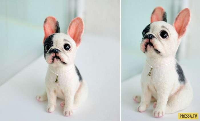 Русские мастерицы делают таких милых собачек, которых захочется сразу же купить (15 фото)