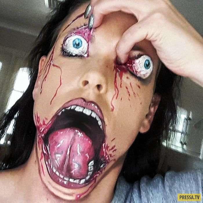 В этой милой девушке таятся тысячи монстров… (30 фото)
