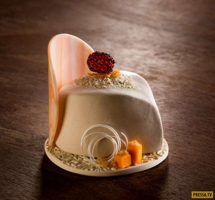 Десерты из фарфора - настоящие произведения искусства (9 фото)