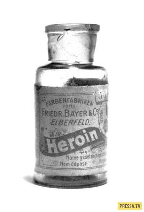 В начале 20 века лечили людей героином - ядом, вызывающим зависимость (7 фото)