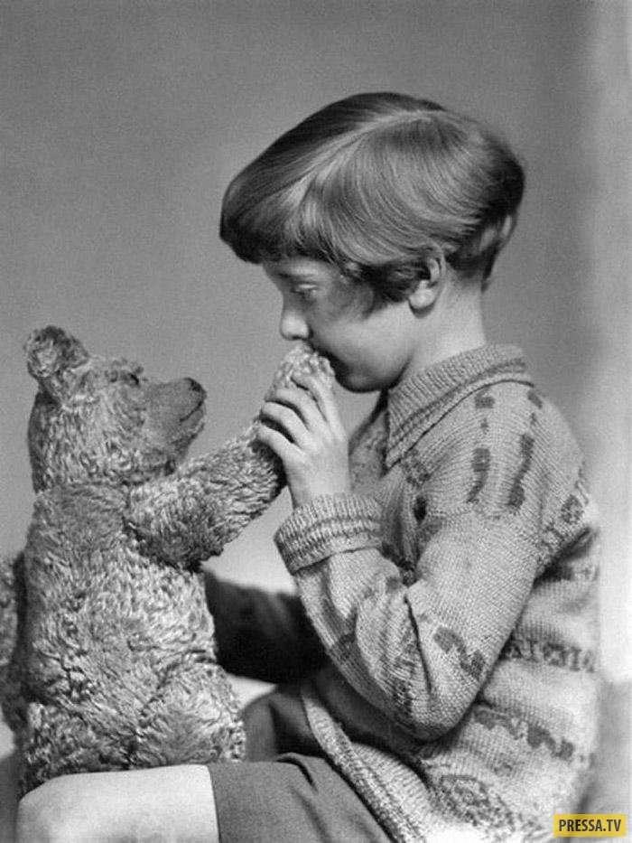 От детства до смерти: жизнь реальных прототипов известных детских книг (17 фото)