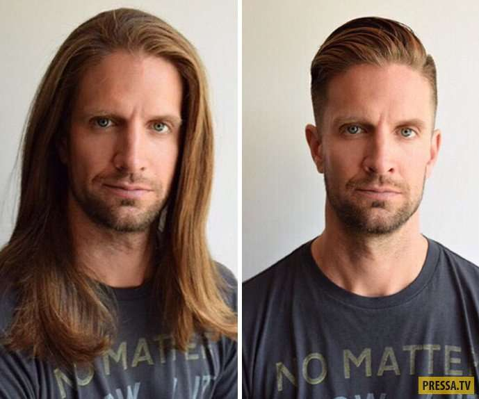Просто удивительно, как стрижка изменила этих мужчин (41 фото)