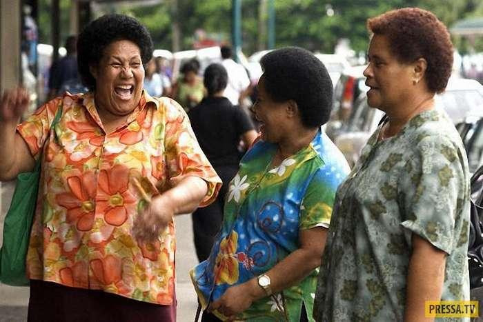Топ 10: Страны, в которых ожирение считается признаком здоровья, богатства и счастья (11 фото)