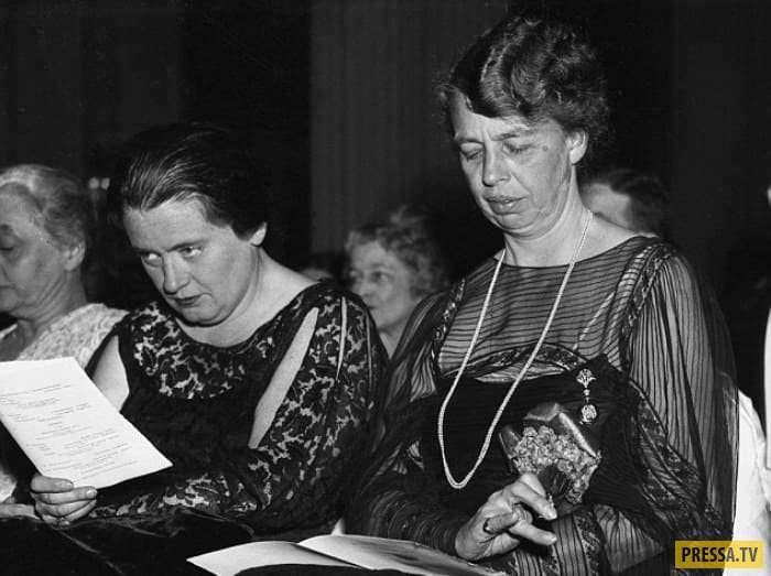 Страницы истории: Грустные тайны Элеоноры Рузвельт (12 фото)