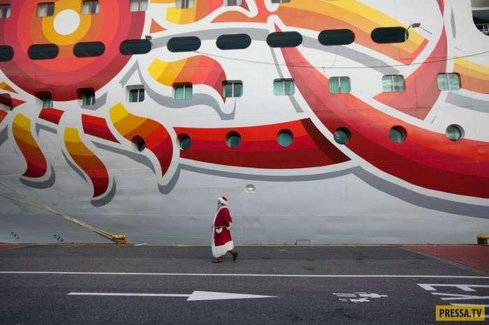 Шокирующая правда о работе на круизном лайнере (7 фото)