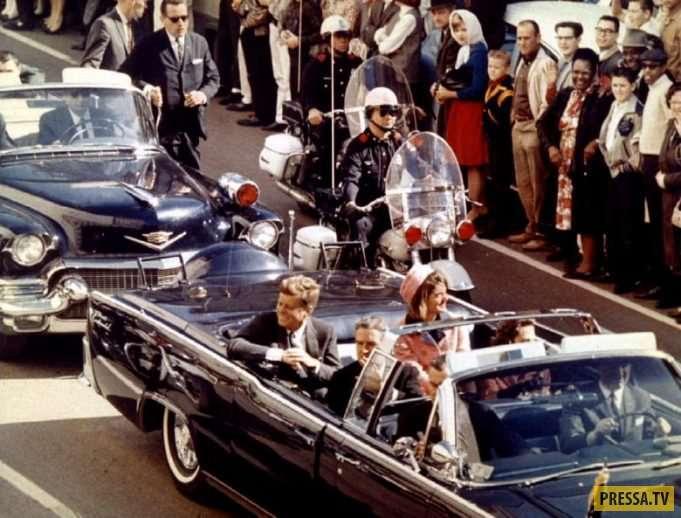 Фотографии, сделанные в день убийства президента США Джона Кеннеди (14 фото)
