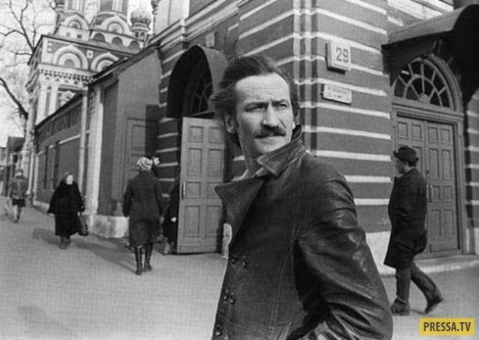 Легенды советского кино: актер, поэт, режиссер Леонид Филатов (13 фото)