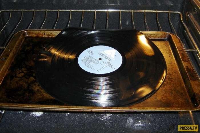 Не стоит выкидывать старые грампластинки – из них можно сделать крутые вещи! (25 фото)