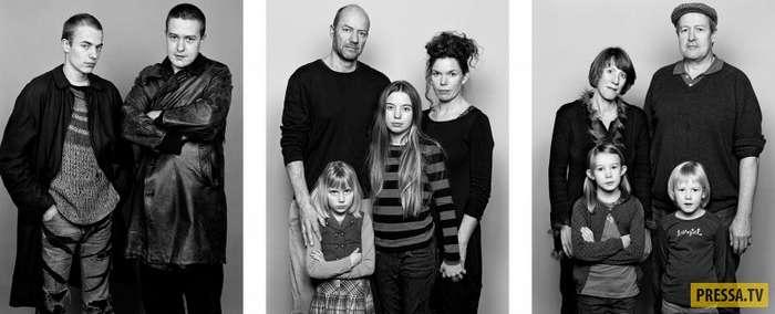 Необычный фотопроект Барбары Давац: как изменились люди за 30 лет (10 фото)