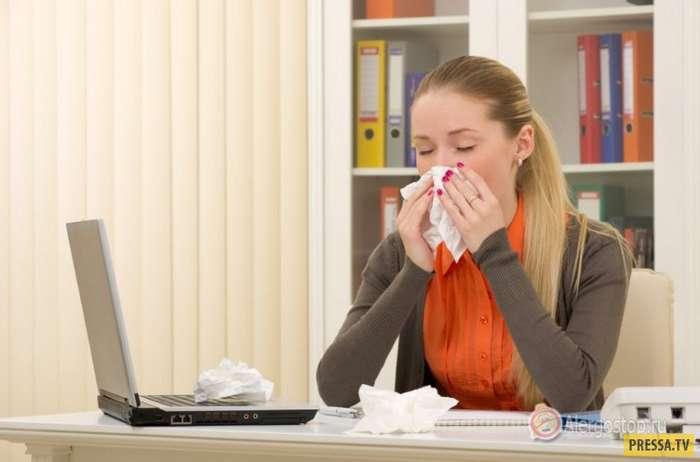 Топ 10: Самые необычные виды аллергии (11 фото)