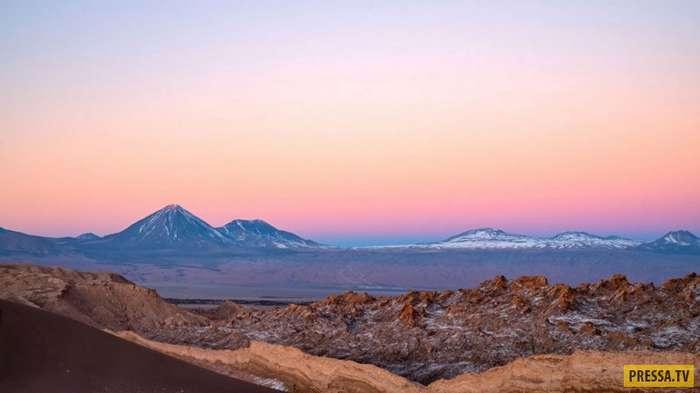 Необыкновенно красивая чилийская пустыня Атакама (22 фото)