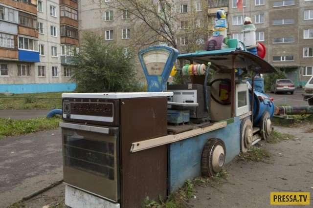 Прикольные фотографии из России (50 фото)