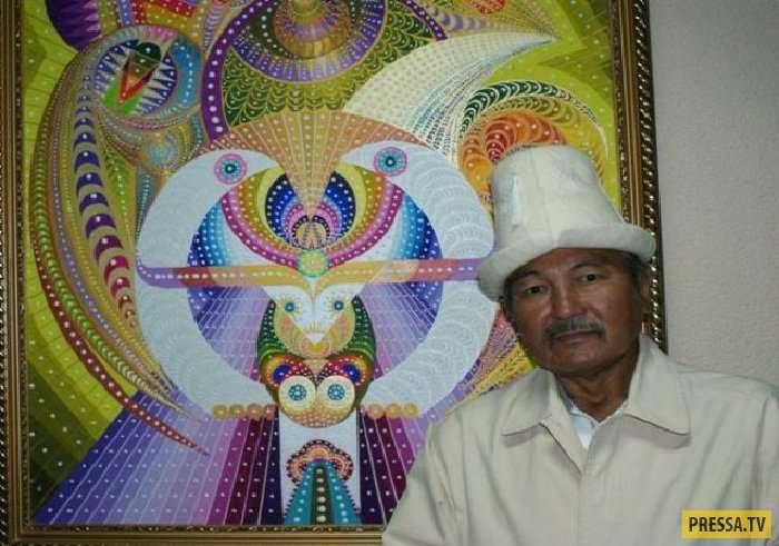 Арт-терапевт из Казахстана Бахтыбек Талкамбаев исцеляет людей при помощи картин (19 фото)