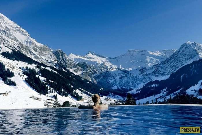 Самые красивые и комфортабельные отели мира - райские уголки (62 фото)