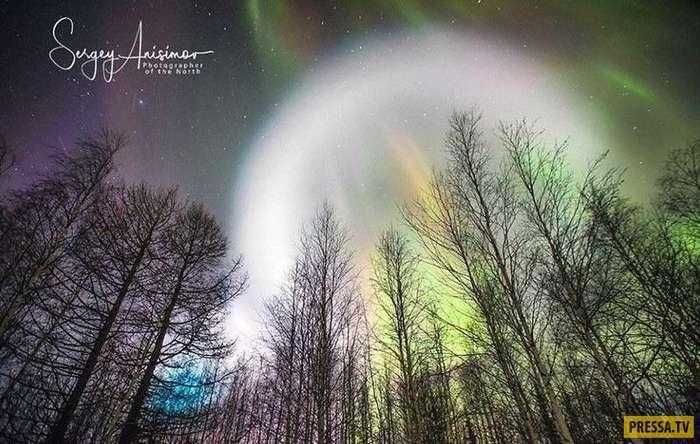 НЛО или ядерные испытания: огромный светящийся шар над Сибирью переполошил Россию (9 фото)