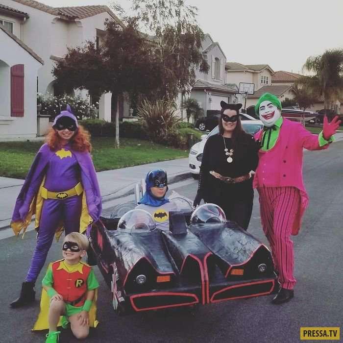 Люди с ограниченными возможностями, которые вывели Хэллоуин на новый уровень! (30 фото)