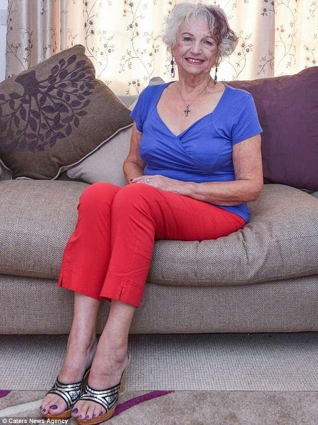 75-летняя британка ради любви сбросила 30 кг