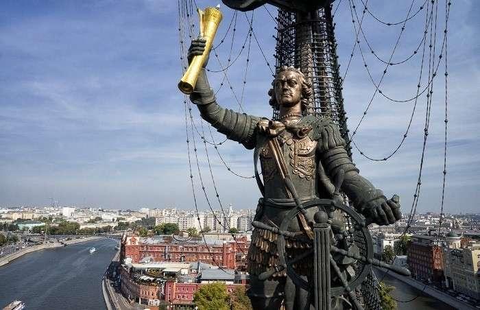 Как Пётр I благодаря скульптору и архитектору свой же флот разбил-2 фото-