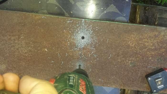 Как я калиточку на даче запилил-29 фото-