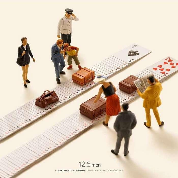 Миниатюрный календарь фотографа Tatsuya Tanaka-50 фото-
