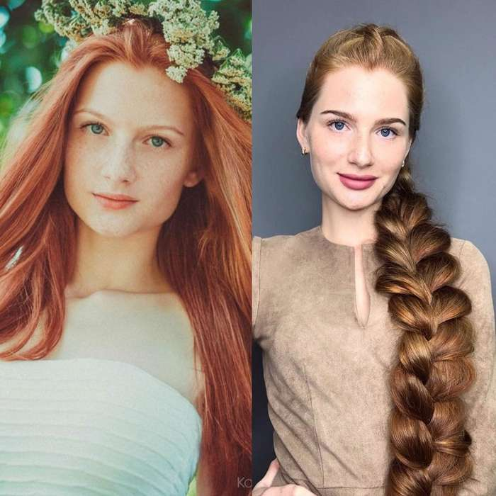 История московской Рапунцель: от девушки, борющейся с облысением, до обладательницы роскошной шевелюры-18 фото-
