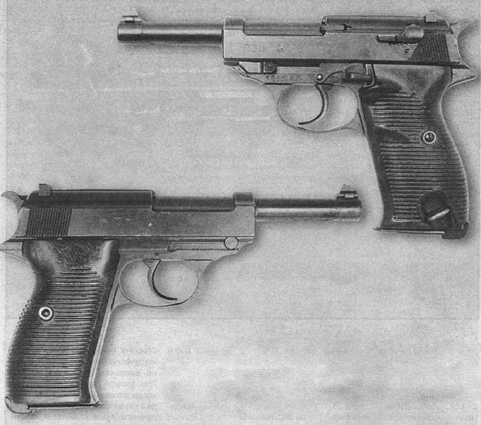 Пистолет Walther P38-17 фото-