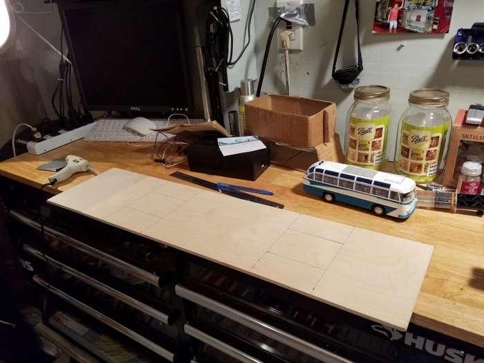 Модель автобуса ЛАЗ-697Е своими руками-20 фото-