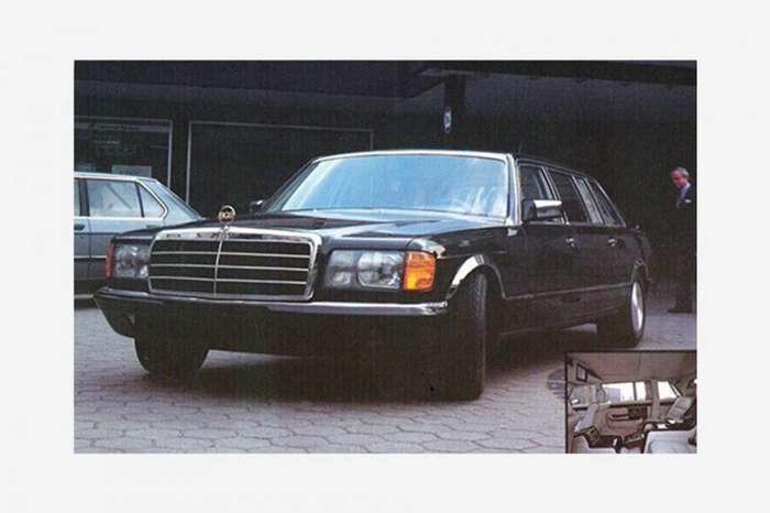 Как сделать Mercedes-Benz S-класса намного шире и не вызвать ни у кого подозрений-10 фото-