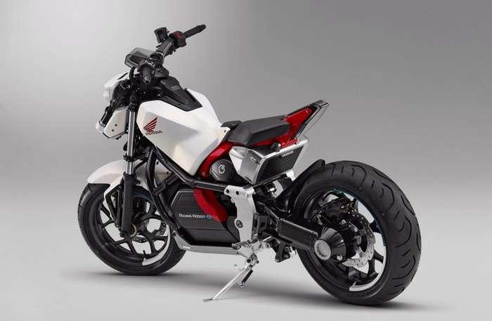 Honda представляет самобалансирующийся мотоцикл-9 фото + 2 видео-