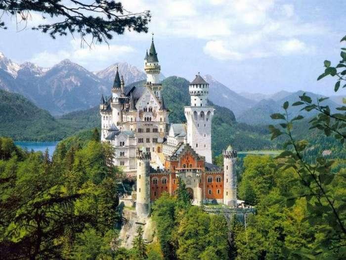 Топ-10 историй старинных замков-10 фото-