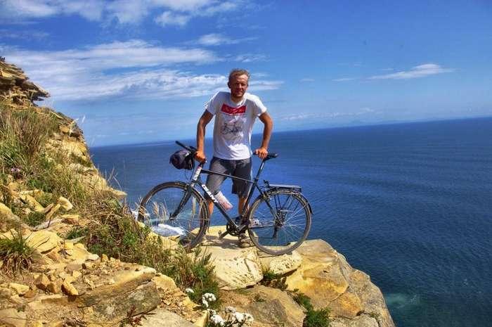 Из Калининграда до Владивостока на велосипеде-16 фото-